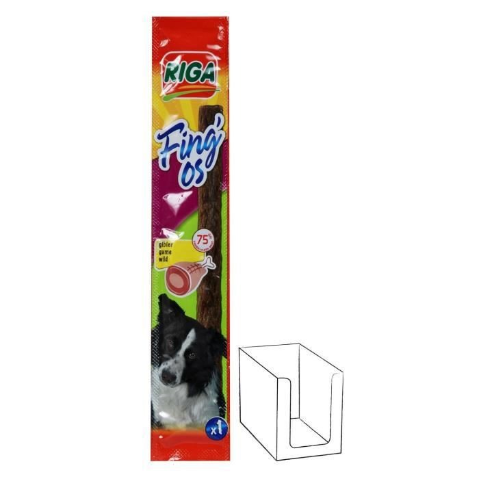 FRIANDISE RIGA FING'OS gibier x 1 CHIENS