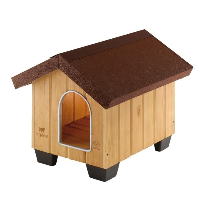domus mini niche en bois pour chiens achat vente. Black Bedroom Furniture Sets. Home Design Ideas