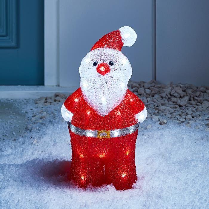 Père Noël Lumineux LED Acrylique Pour Intérieur ou Extérieur - Achat ... 0750e5243e91