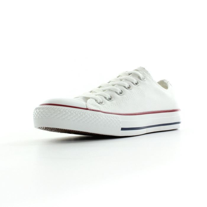 fausse converse blanche basse