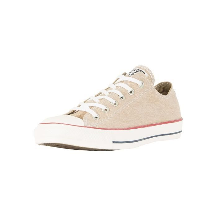 beige toile all star ox homme converse 015810 g24conv210