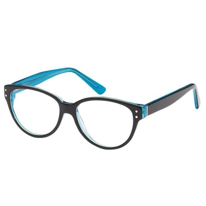 Lunettes de vue Sun A123 -F Noir - Bleu Noir, Bleu - Achat   Vente ... d2ceb1b6e8f2