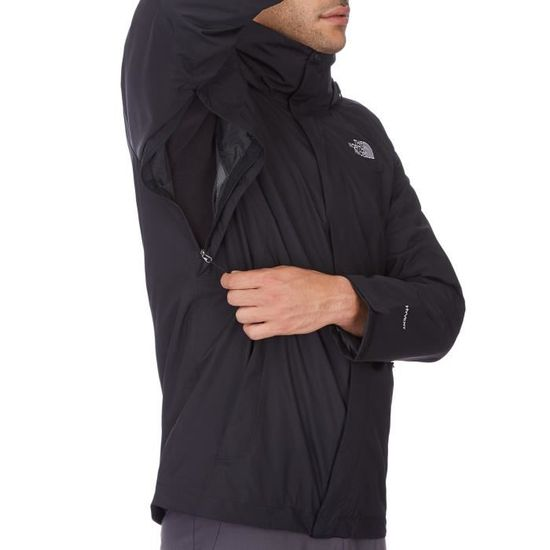 849a066043 The North Face M EVOLVE II TRICLIMATE JACKET 3-in- Noir Noir - Achat /  Vente parka - Cdiscount
