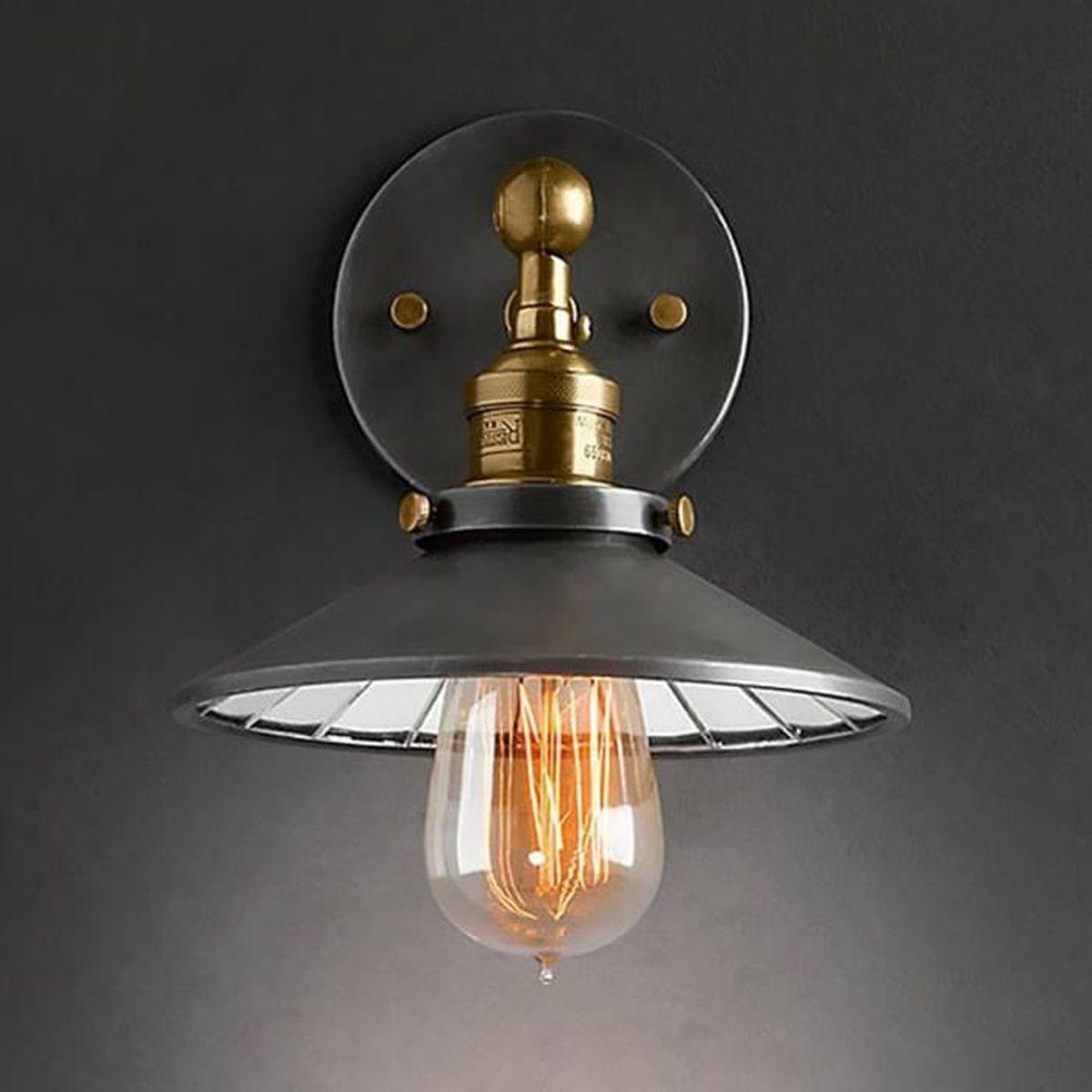 Applique murale Vintage Style Industriel Pour Ampoule à filament ...