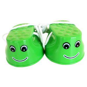 ECHASSE Sports de plein air Jouets Smiley Stilts 1 Paire G