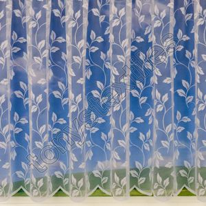 VOILAGE Rideau style voilage - avec passe-tringle - vendu