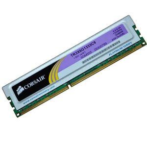MÉMOIRE RAM 2Go RAM Pc Bureau CORSAIR TR3X6G1333C9 DDR3 PC3-10