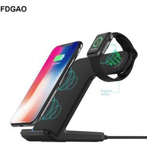 CHARGEUR TÉLÉPHONE FDGAO 2 en 1 Chargeur sans Fil pour Apple Watch Ch