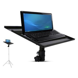 SUPPORT ENCEINTES SONO Support pour PC/Tablette à fixer sur support avec