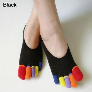 CHAUSSETTES Chaussettes en Coton Femmes 5 Orteils Socquettes I