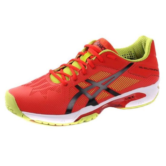 Chaussures Asics Gelsolution Speed 3 0990 Rouge Rouge - Achat / Vente basket