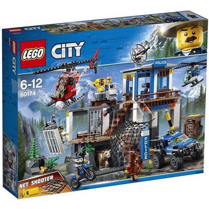 LEGO® City 60174 Le poste de police de montagne