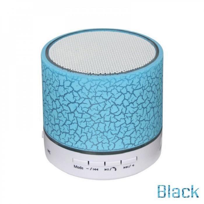 Classe Portable Enceinte Blanc Electronique Mini Bluetooth Haut-parleur Ture Sans Fil Stéréo Mic Subwoofer La