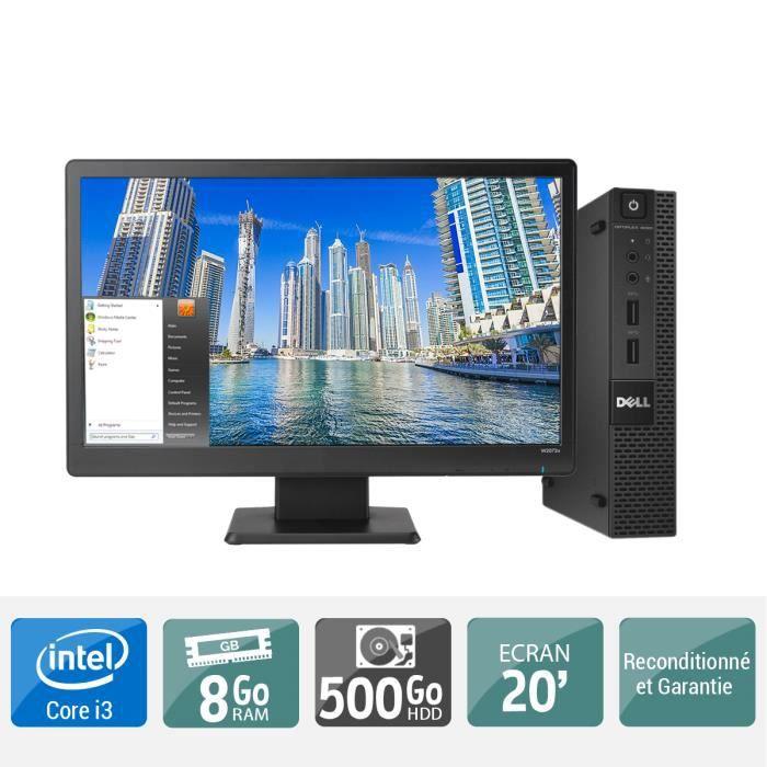 61de2f69576ca1 Ordinateur de bureau HP PRODESK 400 G1 pentium dual core g 8 go ram 500 go  disque dur, écran 22 pouces