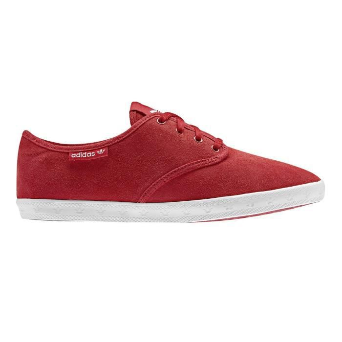 Baskets femme, Adidas Adria PS W Rouge Rouge Achat Vente