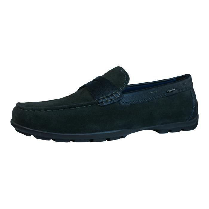 Geox U W Monet 2FIT E Suede Mocassins Chaussures Hommes zuFQ9t