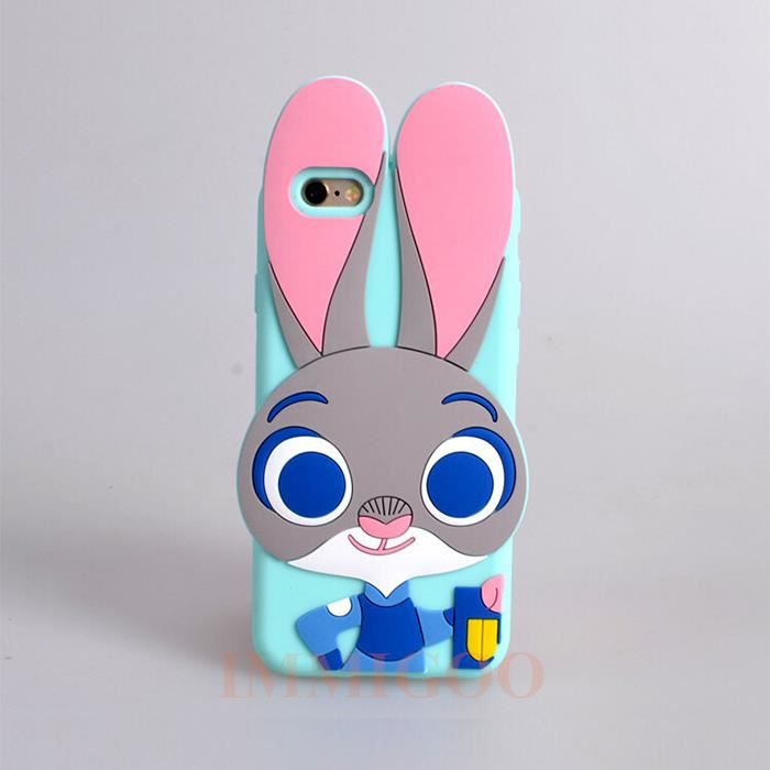 coque iphone 7 zootopie