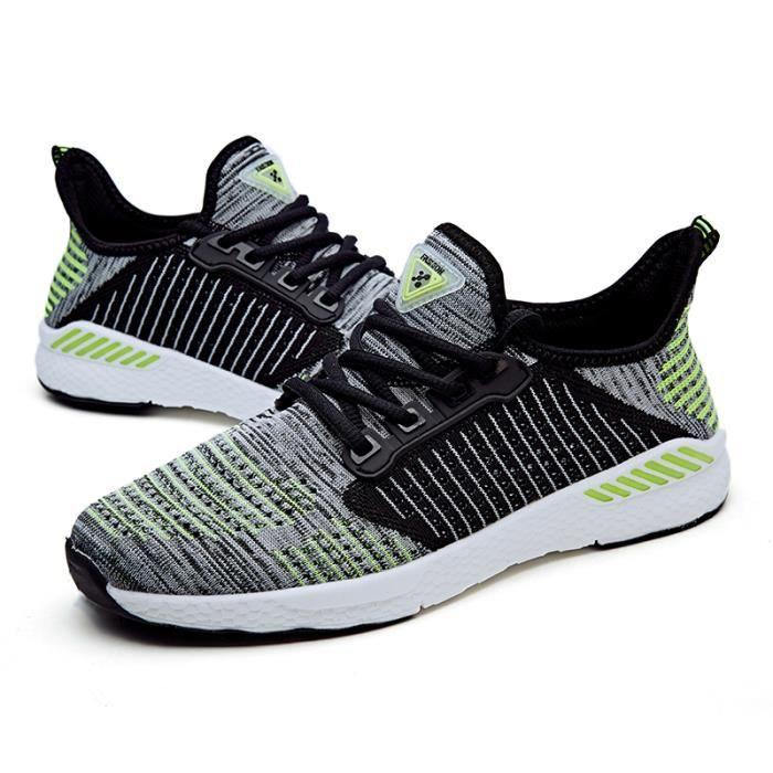 Baskets Hommes Chaussures de sport légères pour femmes Chaussures de sport sportives respirantes 2xLLfR