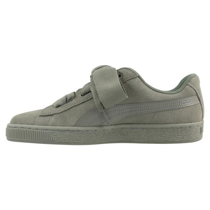 Basket Puma Suede Heart Snake Junior - 364918-04