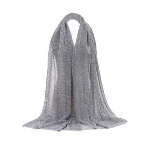 ... ECHARPE - FOULARD Mode Femmes solides Couleur longue écharpe souple ... 7f7b13db9c1