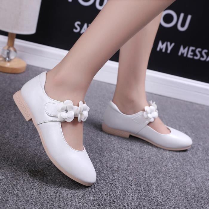 Enfants Chaussures Ballerine Bébé fille Blanc kbXCj