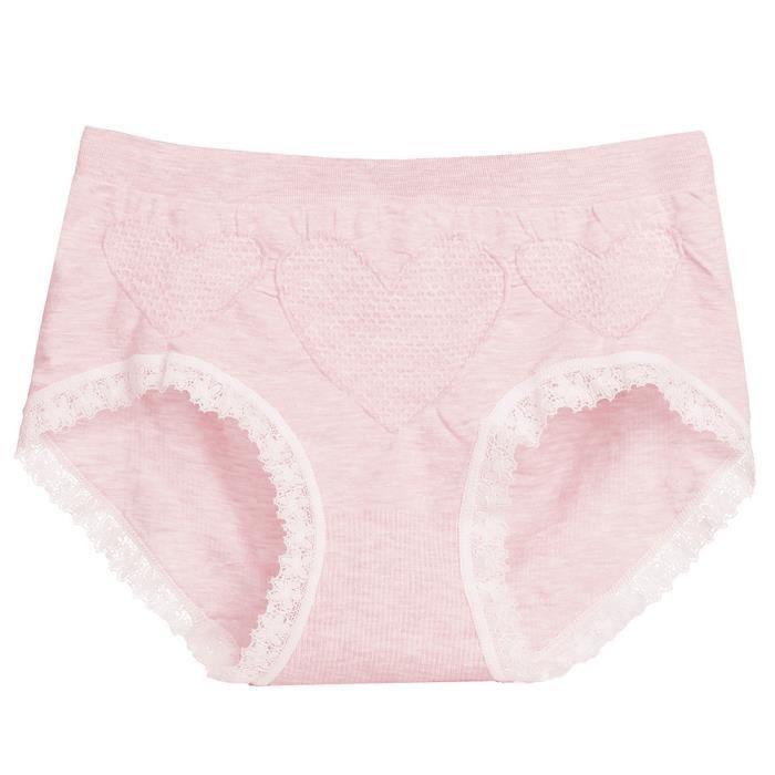 vêtements Sans Femmes Sous Moyenne Thongs Hauteur Slips Couture Rose Les Culottes Lingerie De qTwPwB