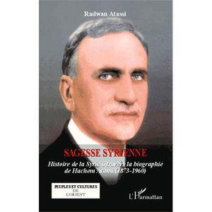 LIVRE HISTOIRE MONDE Sagesse syrienne