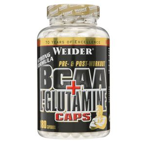 WEIDER BCAA + L Glutamine Muscle recovery 180 NTT