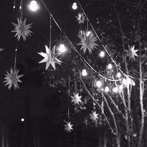 KIT DE DECORATION 2 m arbre de Noël pentagramme forme mariage maison