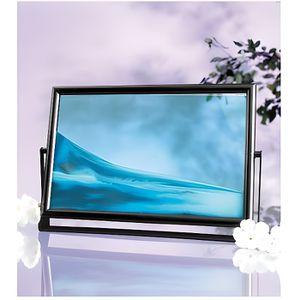 TABLEAU - TOILE Tableau de sable à vagues ''Blue Ocean Maxi''