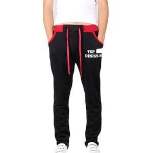 c2f46d984b9a6 SURVÊTEMENT Pantalon Homme de jogging imprimé Pantalon Hommes