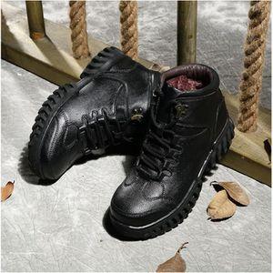 Chaussures hommes d'hiver Plus de cachemireSnow Martin Bottes de haute qualité en plein air RDdlWQHs