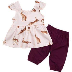 a21347f67bef Ensemble de vêtements 0-24 Mois 2 PCS Ensemble de Vêtement Été pour Bébé ...