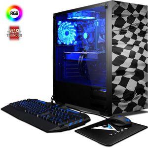 UNITÉ CENTRALE  VIBOX Pyro GS860-185 PC Gamer - AMD 8-Core, Geforc
