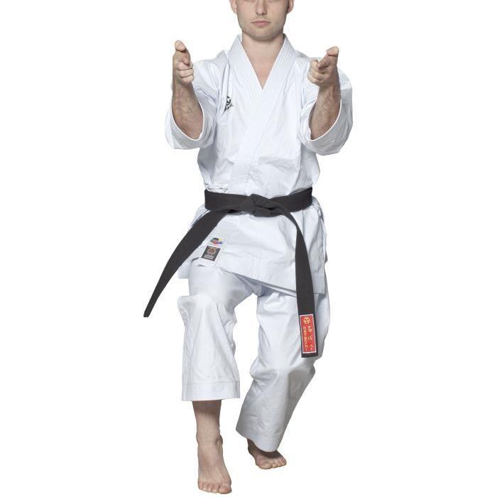 HAYASHI Kimono de karaté Tenno officiel WKF - 175 cm - Blanc
