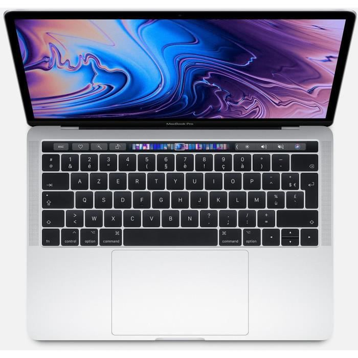 APPLE MacBook Pro Touch Bar - Core i5 1.4 GHz - macOS Catalina 10.15 - 8 Go RAM - 128 Go SSD - 13.3&