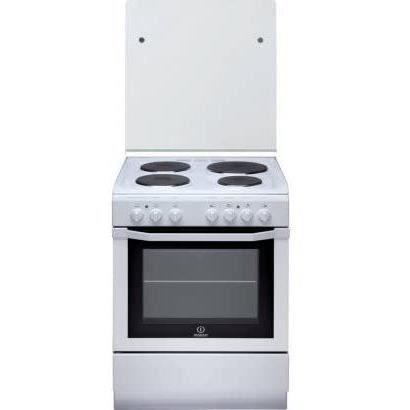 INDESIT I6E6C1AE(W) / FR - Cuisinière Electrique - 4 Zones - 7000W - Four Multifonctions Catalyse -