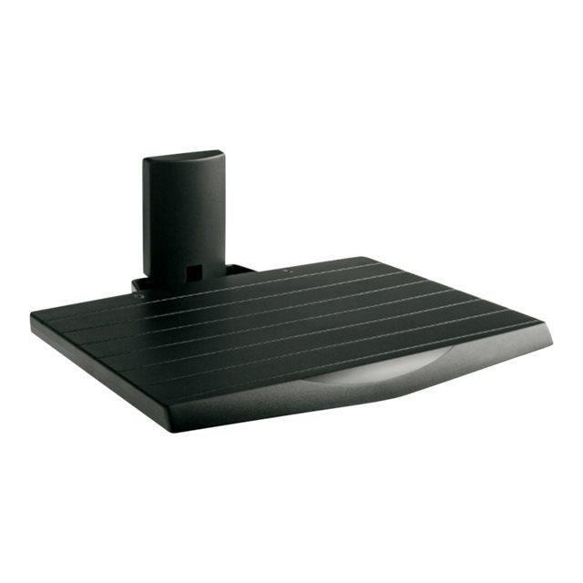 MELICONI Support Appareil Audio Vidéo - Poids max : 12 Kg - ABS et acier - Dimmensions : L 38 x P 29,8 cm - Noir