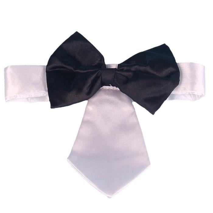 Lovely Butterfly Pet Et Chat Collier Chien Cravate Blanc@hxq4166