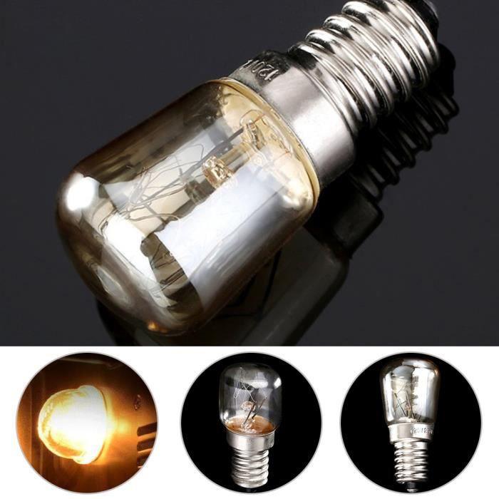 ° Résistant 1pc À Ampoule La Blanc Four E14 Chaud Lampe 15w Cuiseur Lumière 220 C Chaleur 300 230v qSjzMGULpV