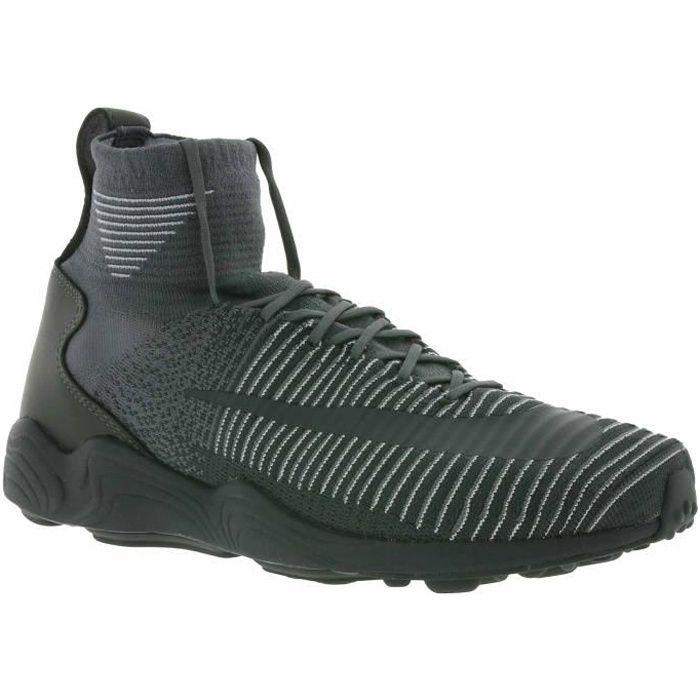 NIKE Zoom Air Mercurial XI Flyknit Hommes Sneaker Gris 844626 002