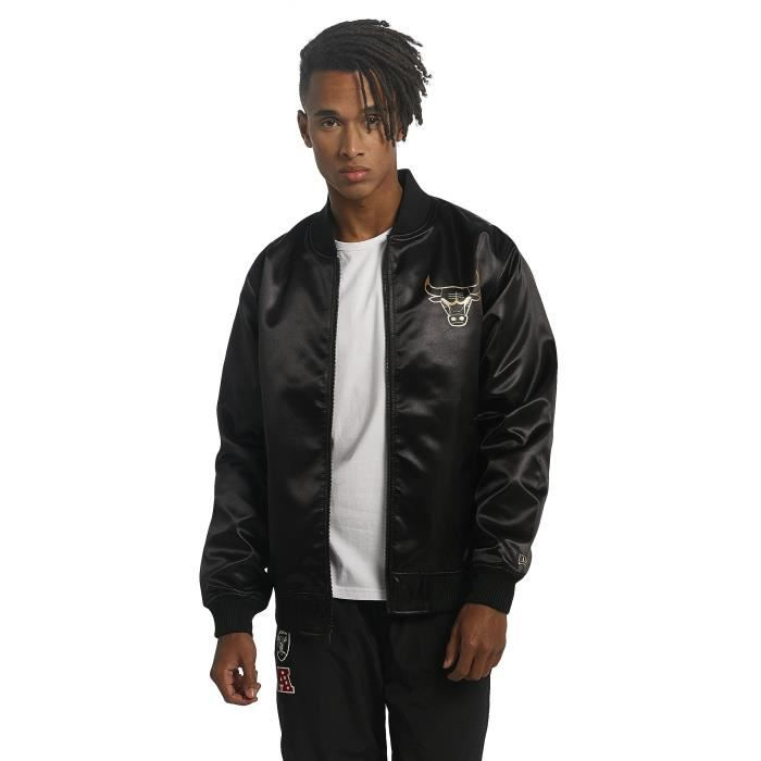 amp; Bomber Homme Sateen Chicago Manteaux Era New Vestes Bng Bulls HWAx1An