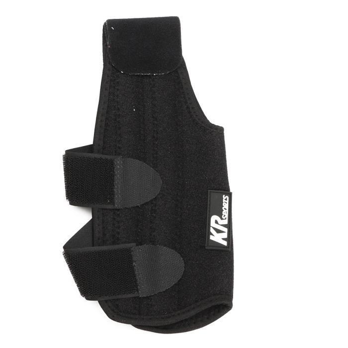 TEMPSA 1pcs Protege cheville foot support ajustable sprains blessure de la douleur noir L