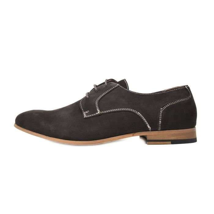 Bruno Marc Constiano-1 Suede Oxfords Chaussures en cuir QBITN Taille-39