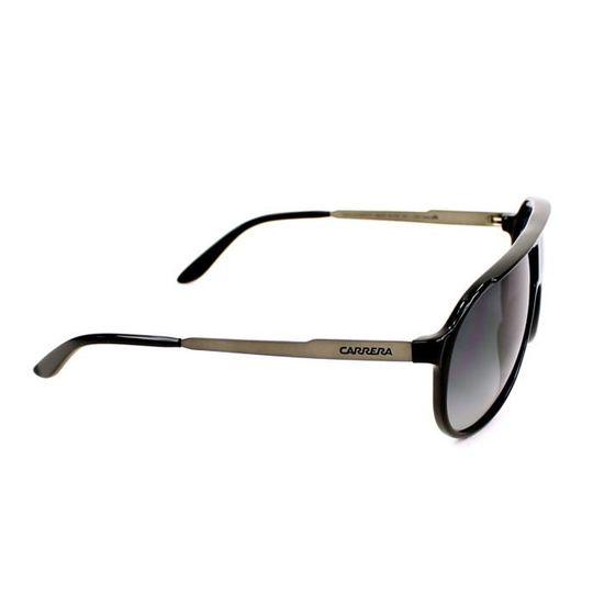 8d8e4a55de4ee8 Lunettes de soleil Carrera New Champion -LB0HD Noir - Argent - Achat    Vente lunettes de soleil Femme Adulte Argenté-Noir - Cdiscount