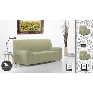 housse extensible canape 3 places achat vente pas cher. Black Bedroom Furniture Sets. Home Design Ideas