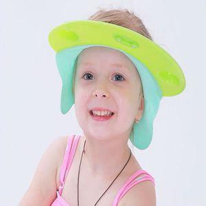 KIT BAIN BÉBÉ Bonnet de bain ajustable pour les enfants VERT TU- 386c8093b62