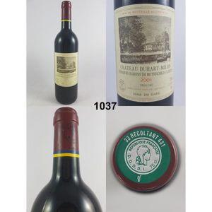 VIN ROUGE Château Duhart-Milon 2001 - N° : 1037, Pauillac, R