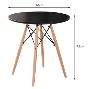 TABLE À MANGER SEULE Table à Manger Ronde Scandinave pour 2-4 Personnes