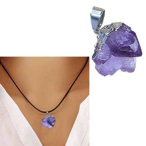 PIERRE VENDUE SEULE Collier pierre gemme pendentif pierre naturelle en